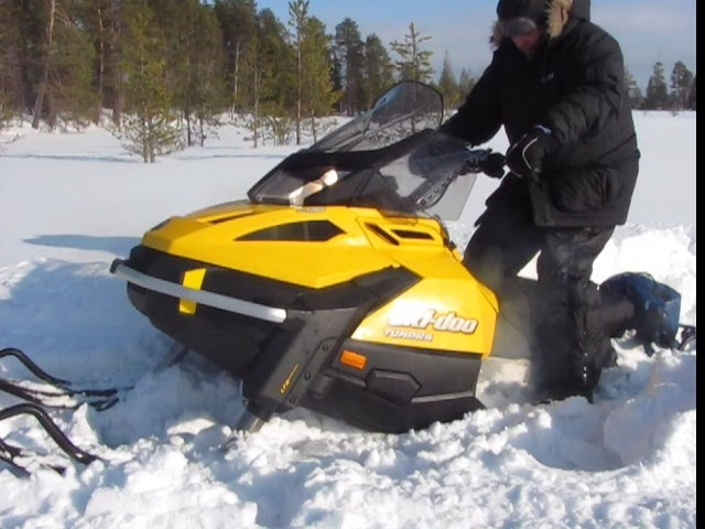 снегоход на рыбалке фото