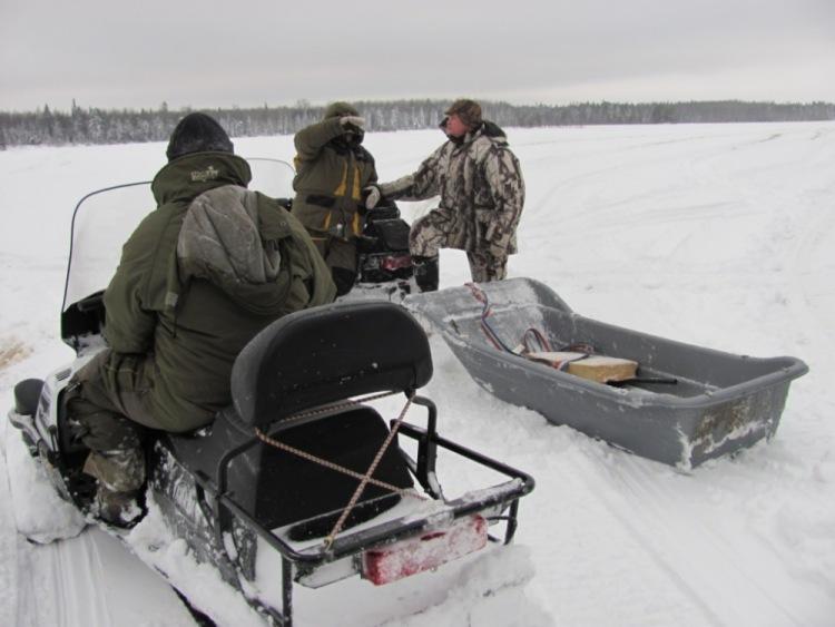 вк 540 на рыбалке