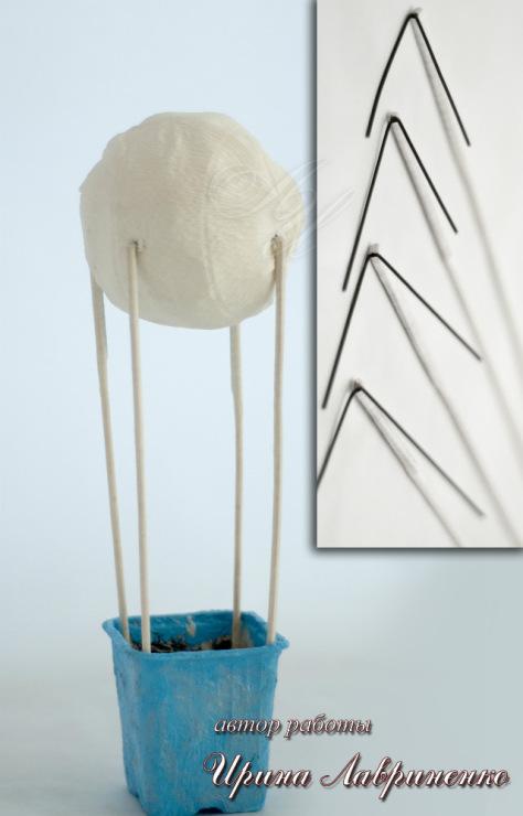 Воздушный шар своими руками из конфет 100