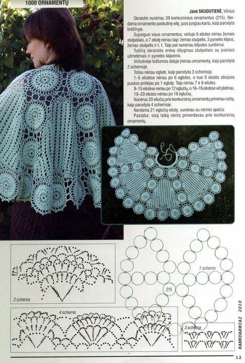 Вязание шалей со светланой берсановой 75