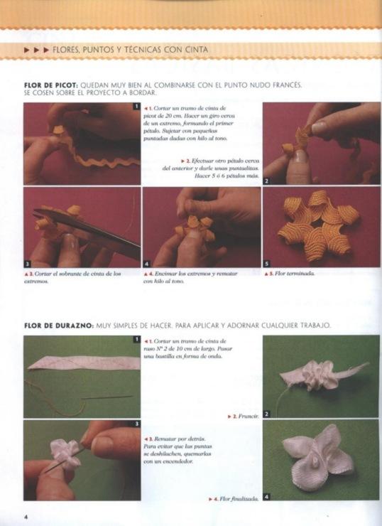 Вышивка лентами-Ribbons.  Прочитать целикомВ.