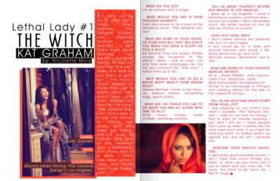 Смертоносная Леди #1; Ведьма Кет Грэхэм