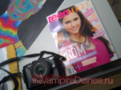 Нина на обложке апрельского номера Teen Vogue