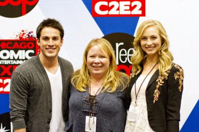 Интервью с Джули, Кендис и Майклом (C2E2)