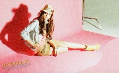 Фотосессия Нины для журнала Nylon