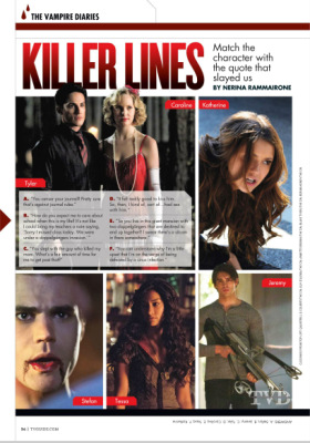 TV Guide Magazine's 2014 Comic-Con Special Edition [Перевод сканов]