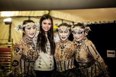 Нина с цирковой труппой TOTEM [9 ноября]