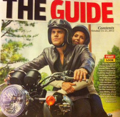 Скан журнала TV Guide с новым стиллом к 4.03 - «Встряска»