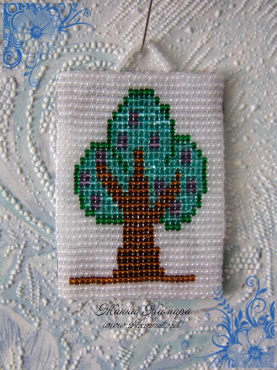 бисерное ткачество миниатюра