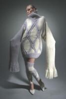 Описание: связать мужской свитер кольчуга со схемами спицами.