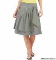 юбка на кокетке выкройка - Выкройки одежды для детей и взрослых.