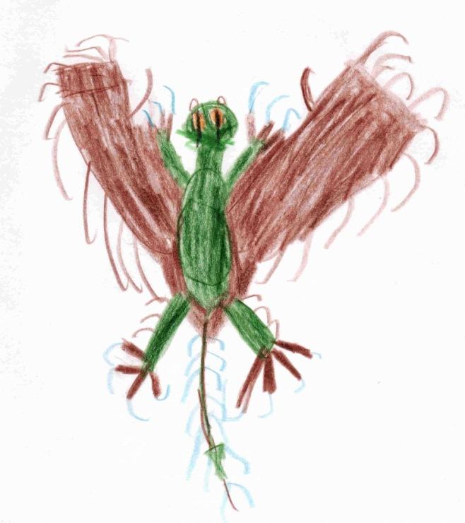 Дракон молния детские рисунки ra duga