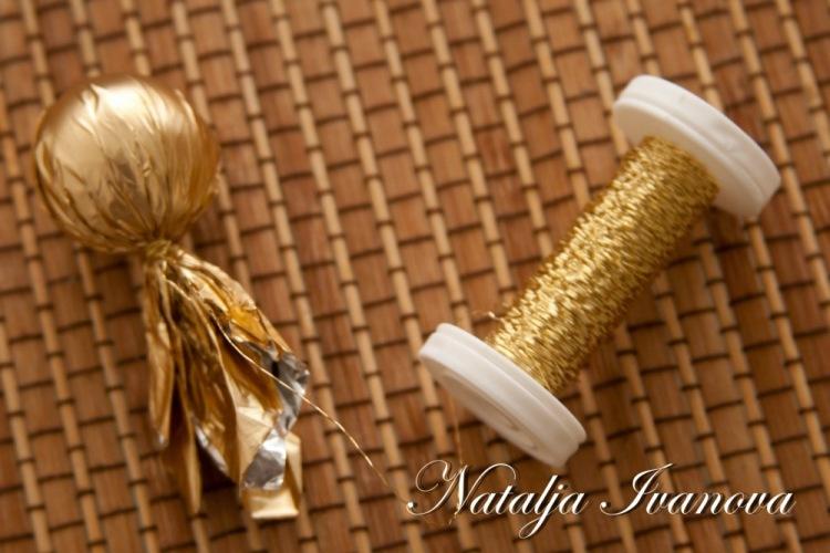 Мастер класс. wpid nvnbO0Aig88 Розы из конфет и гофрированной бумаги.