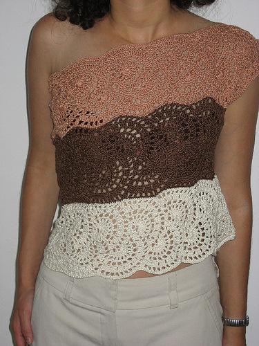 fashion for women: crochet swimsuits