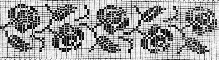Идеи для филейного вязания