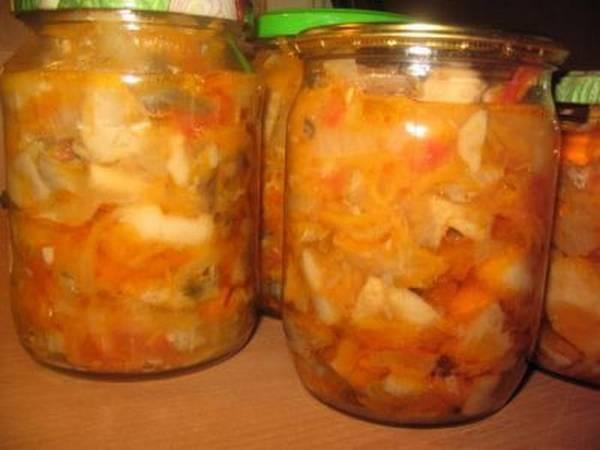 Как сделать солянку на зиму с грибами