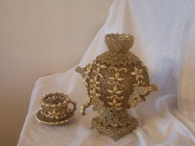 Изделия из макаронных изделий своими руками