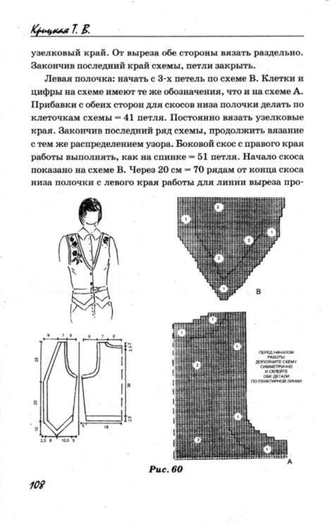 Вязание реглан по частям