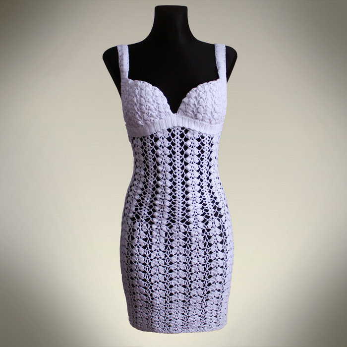 crochet dress for summer