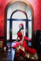 С чем у вас ассоциируется образ невесты в стиле Мулен Руж.