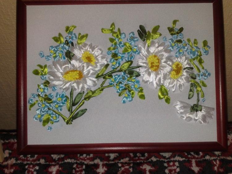Александра гордиенко вышивка лентами мастер класс