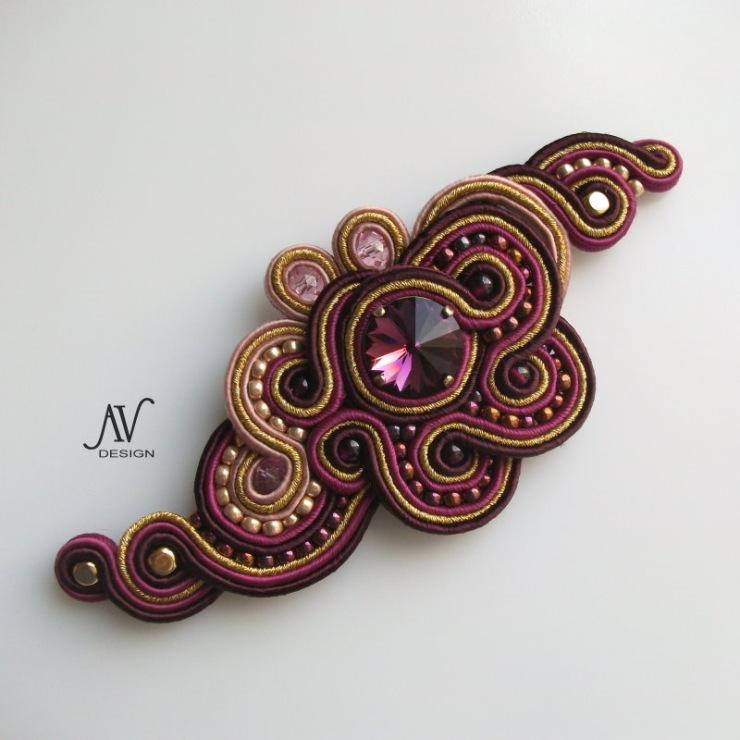 Сутажная вышивка Аннетs Валюс.  Изящные, легкие и стильные, сутажные изделия.