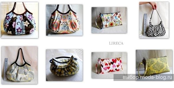 Текстильные сумки на лето.