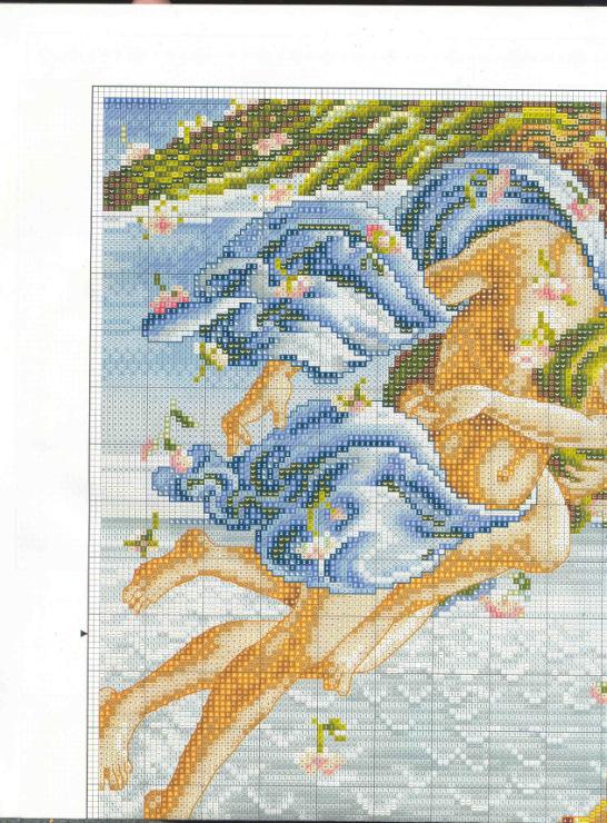 Вышивка чаривна мить рождение венеры 50