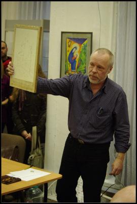 Акварельный мастер-класс. Владимир Колбасов. 29 января 2011.