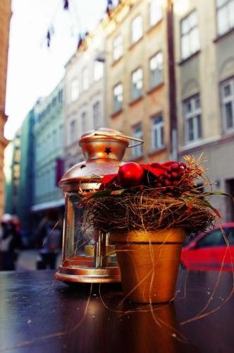 Львов. Рождественские композиции на улицах города.