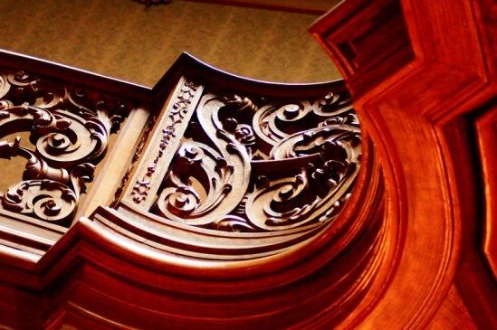 Львов, Дом ученых. Деталь лестницы.