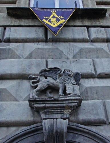 Фото Львова. Венецианская каменица на площади Рынок.