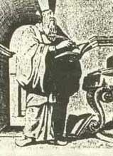 Михаил Боим в костюме китайского мандарина. Илл. из Википедии.
