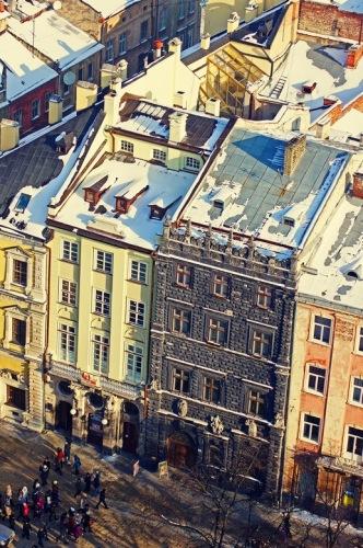 Черная каменица - одна из самых известных достопримечательностей Львова.