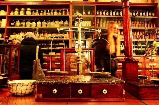 Достопримечательность Львова - Аптека-музей.