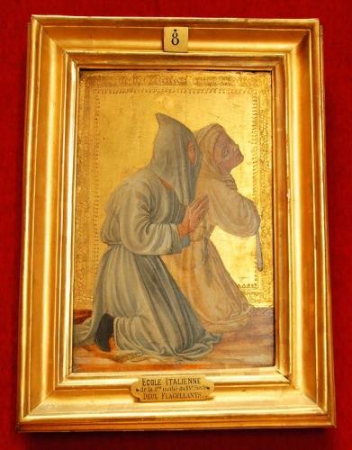 «Два флагеллянта», XV век. Итальянская школа.