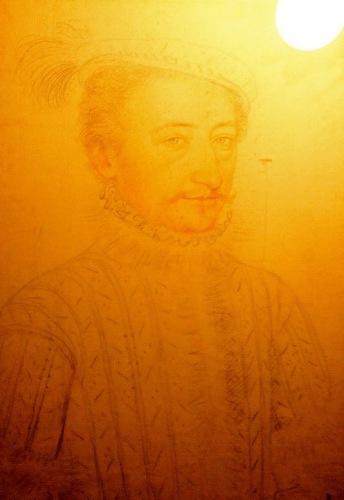 Антуан де Бурбон. Рисунок Франсуа Клуэ.