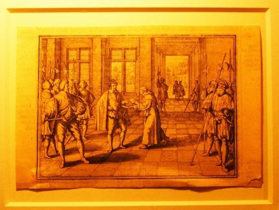 Убийство Генриха III Жаком Клеманом.