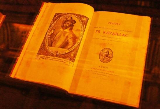 Изданные отдельной книгой материалы процесса над Равальяком.