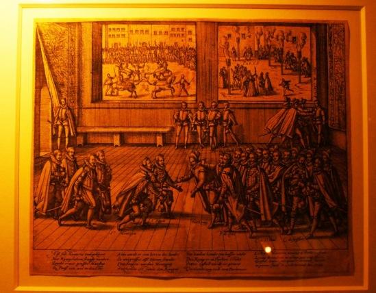 Неудачное покушение Жана Шастеля на Генриха IV.