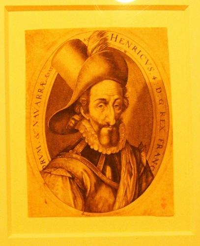 Генрих IV, король Франции и Навары.