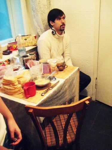 "В хостеле ""Роксолана"". Кухня."