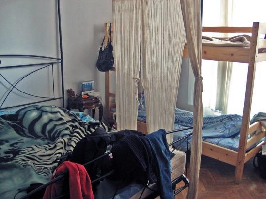 """В хостеле """"Роксолана"""". Комната на 8 человек."""