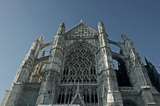 Собор в Бовэ мог стать самым высоким собором во Франции.