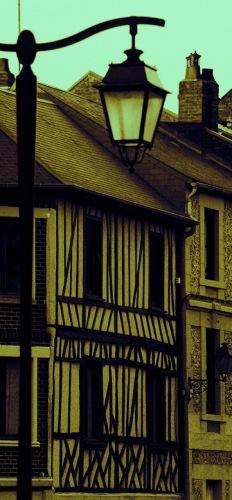 Пикардийские фахверковые домики.