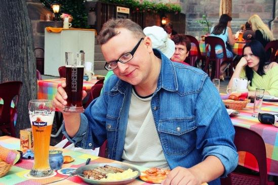 Нюрнбергские колбаски - отличная закуска к пиву.