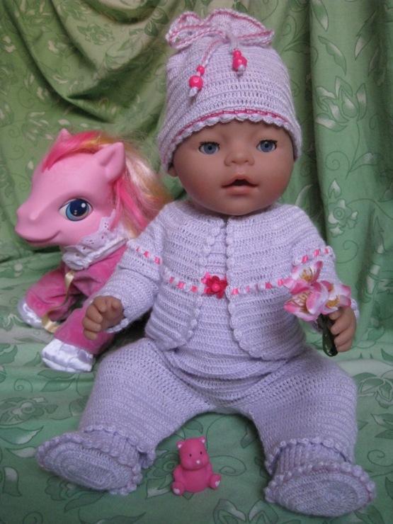 Вязаная одежда для беби бона