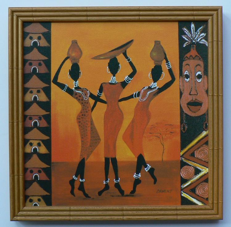 Африканские мотивы своими руками 100