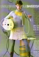 Описание: Вязаная мини юбка Вязание спицами.