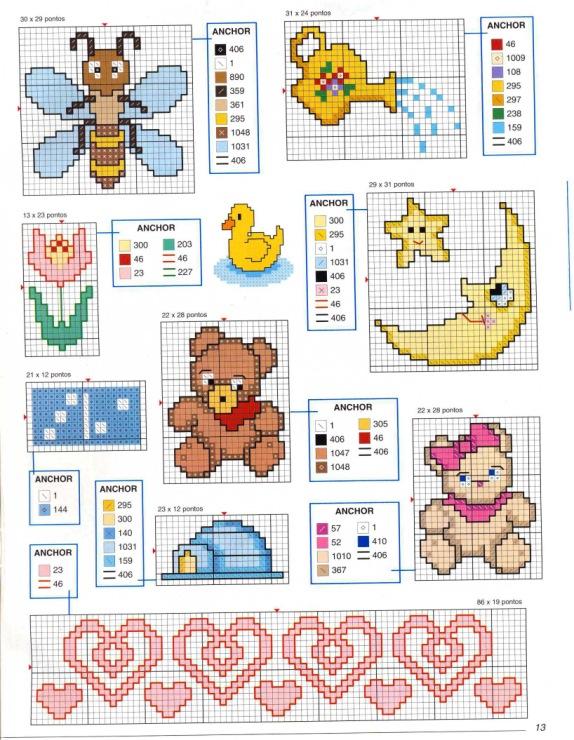 Тэги: схема, вышивка для детей